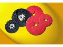 Nye fiberrondeller fra Flexovit giver større slibeevne - Produkt 1