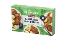 Fjordland Til Familien Kjottkaker Med Poteter