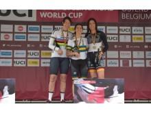 Anna Beck två medaljer på World Cup - linje/tempo