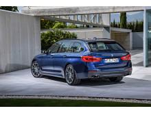 BMW 5-serie Touring - Bagfra
