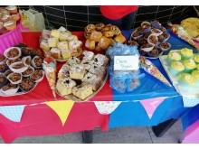 Stevenage station cake sale