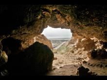 Grotta vid Qumran