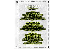 NorthSide 2019 poster
