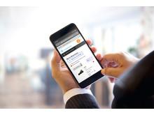 Swecon Baumaschinen GmbH - Ansicht mySwecon Smartphone