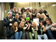 1:a pris kategori Gymnasium SVID Design Open 2010