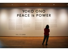 Yoko Ono. PEACE is POWER - Blick in die Ausstellung