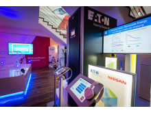 Eaton and Nissan energy storage & control center