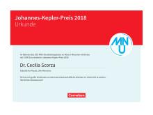 Johannes-Kepler-Preis 2018