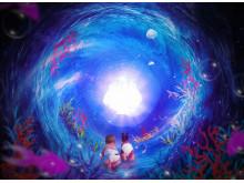 Den kosmiska havsträdgårdspassagen/ Peter Mills