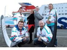 Stena Line Belfast Giants score a sponsorship hat-trick