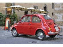 Rome Fiat 500 dreamstime