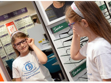 Armthorpe child cancer survivor is guest of honour as Doncaster optician celebrates its newly refurbished store