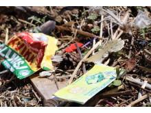 Plastsøppel fra norsk strand
