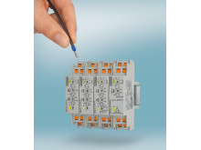 Kompakta övervakningsreläer med snabbanslutningsteknik