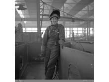 Varvsarbetare från Uddevallavarvet