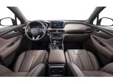 Världsdebut för nya Hyundai Santa Fe.