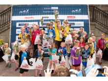 Barntävling prisutdelning_Uppsala Triathlon_foto Magnus Dickson