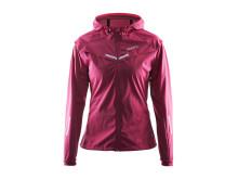Weather jacket (women) i färgen ruby/crush/pine