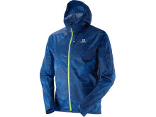 Salomon Fast Wing Graphic hoodie M, midnight