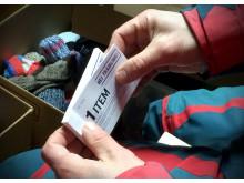 De asylsökandes biljetter till sportbutiken