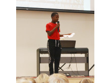 Elevrådsleder Godwin Diambilay (2)