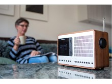 DAB-radio i stua