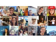 Medarbetarna på Orkla Foods Sverige