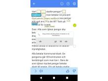Läscoach appen Skärmbild