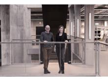 Nye partnere: Carsten Jensen og Birgitte Gade Ernst