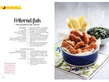 """Friterad fisk – ett av recepten från Anne Aobadias nya kokbok """"Vardagsgott!"""""""