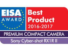 EUROPEAN PREMIUM COMPACT CAMERA 2016-2017 - Sony Cyber-shot RX1R II