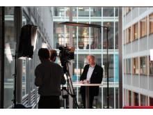 Filminspelning av Diligentias Årsöversikt 2012
