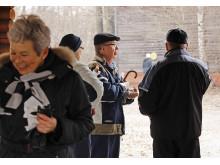 Sydänpotilasyhdistys Sepot ry:n jäseniä Turun Ruissalossa Sydänviikolla