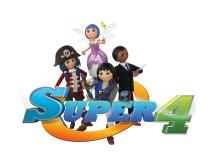 Die Helden der TV-Serie Super 4