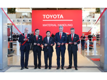 Opening Ceremony at Toyota Material Handling pavillion - CeMAT 2016