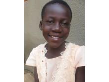 Amandine, 12 år från Burkina Faso