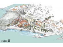 Canningområdet Strömstad översiktsbild