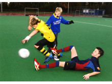 Jungs Fußball Foul