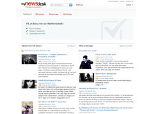 MyNewsdesk Network journalist dashboard