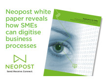 Neopost white paper reveals how SMEs can digitise business processes