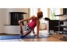 Yoga och träning online