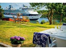 Färja passar Fredriksborg Hotell & Restaurang