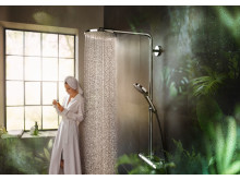 hansgrohe Raindance Select PowderRain Showerpipe