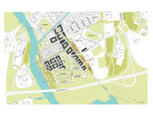 Strukturplan Nya Udden i Kristianstad