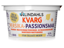 Lindahls kvarg Persika-passionssmak 150 gram