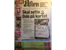 Tuesday's Aften newspaper front page