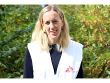 Jenny Gustafsson, Koordinator för Läkare Utan Gränsers projekt för asylsökande i Sverige