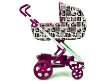 Barnvagnsskydd med Liv Strömquists serie