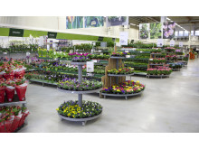 Blomsterlandet butiksbild
