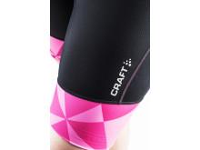Velo bib shorts (dam) i färgen black/geo pop. Rek pris 900 kr.